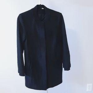 BOGO Free H&M black pea coat with front zipper